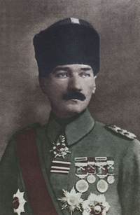 Military career of Mustafa Kemal Atatürk